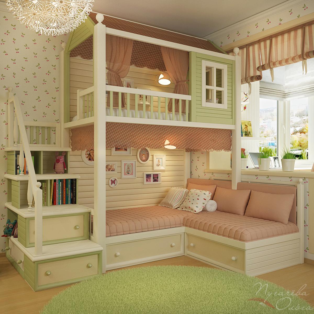 Интерьеры детских комнат пугачева ольга.