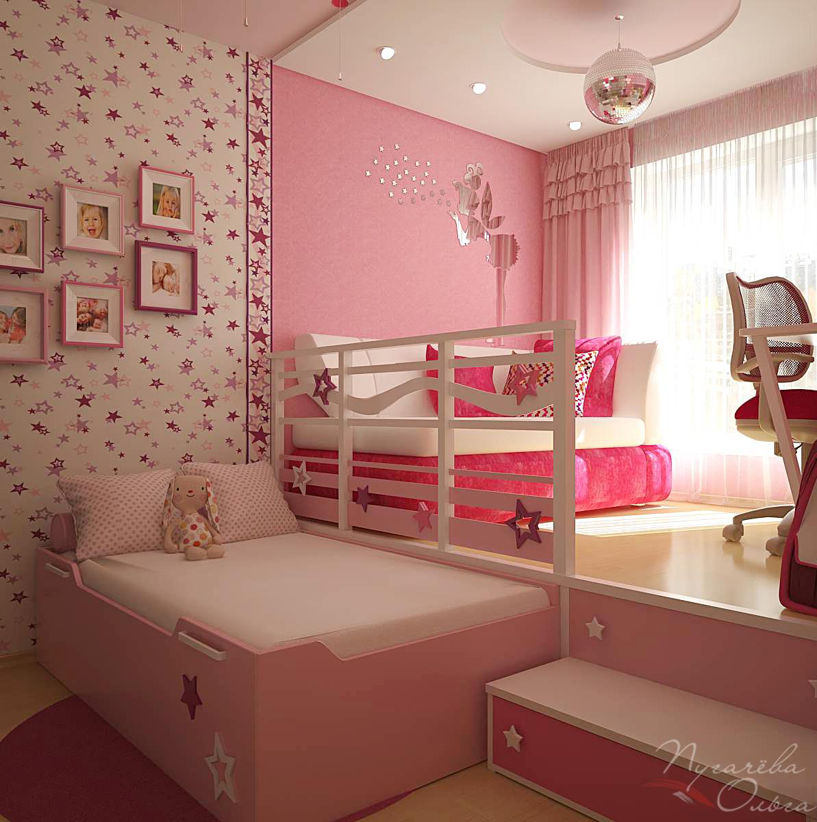 Подиумы для детской комнаты своими руками 142