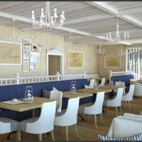 Лаунж-кафе «Нимфа» с видом на море